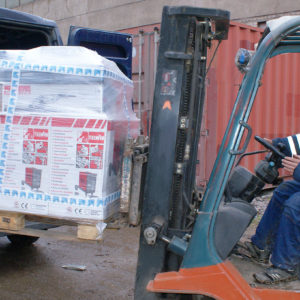 Услуги склада и грузоперевозки